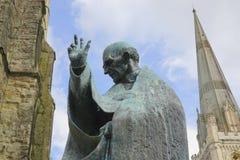 Free Bronze Statue Of Saint Richard Stock Photos - 158079423