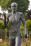 Bronze statue of Steve Ovett in Brighton Stock Image