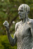 Bronze statue of Steve Ovett in Brighton Stock Photography