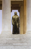 Bronze Statue Thomas Jefferson Royalty Free Stock Photos