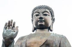 Bronze statue of the Tian Tan Buddha ( Big Buddha ) Royalty Free Stock Photography