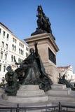 Bronze statue in Venice Stock Images