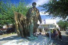 Bronze statue of Vladimir Lenin by Emil Venkov, Slavic artist, Seattle, WA Stock Image