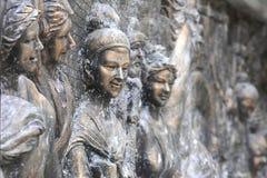 Bronze statue of women,asian Stock Images