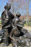 Bronze statue of women who risked their lives,Vietnam Woman's Memorial,Washington,DC,2015 Stock Images