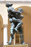 Bronze statues. Stock Images