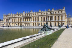 Bronze statues in garden of Versailles. France Stock Images