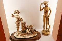 Bronze Statues Royalty Free Stock Photos