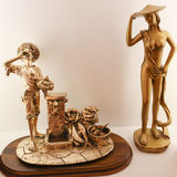Bronze Statues Royalty Free Stock Photo