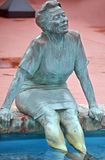 Bronze statues. MYRTLE BEACH SOUTH CAROLINA JUNE 29 2016: Bronze statues dedicated to the families of the world sponsored by Burroughs & Chapin Company Inc Royalty Free Stock Photography