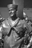 Bronze statues of A National Salute to Bob Hope and the Military. Stock Photography