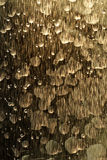 Bronze Streaked Water Pattern Background Royalty Free Stock Images