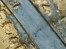 Bronze surface with patina Stock Images