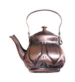 Bronze teapot Royalty Free Stock Photography