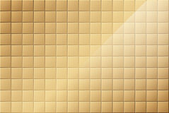 Bronze Tiled Background Royalty Free Stock Images