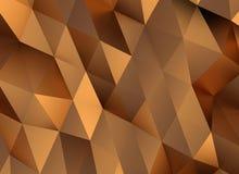 Bronze triangles Stock Photos