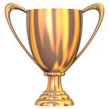 Bronze Trophy Royalty Free Stock Photo