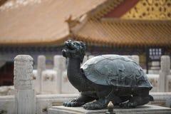 Bronze turtle Royalty Free Stock Photo