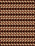 Bronze twisted long rhombus background Stock Photos