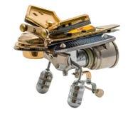 Bronze- und Stahlteile Stockfotografie