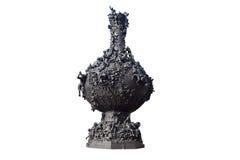 Bronze vase Stock Image