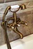 bronze vattenkran Royaltyfria Bilder
