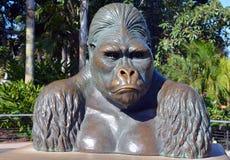 Bronze von Mbongo Stockfotos
