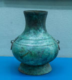 Bronze ware. Bronze refers to bronze vessels made of as the basic raw material processing and, with the device, etc. Is gold or bronze, called JiJin, copper and Stock Photography