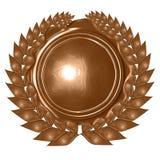 Bronze wreath Stock Photos