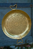 bronze zigensk platta Royaltyfri Fotografi