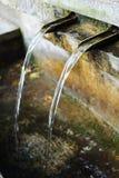 Bronzebrunnen Stockfoto