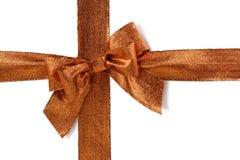 Bronzed bow Royalty Free Stock Photos