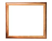 Bronzed Picture Frame. Isolated on a plain background Stock Image