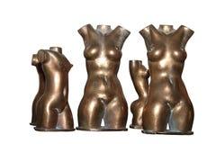 Bronzefrauen Stockbild