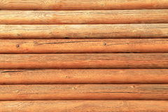 Bronzeia a parede de madeira, fundo Fotos de Stock Royalty Free