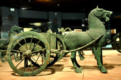 Bronzeie o cavalo fotografia de stock royalty free