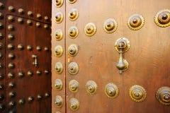 Bronzeklopfer vom Palast von madrassa, Granada, Spanien Lizenzfreies Stockbild