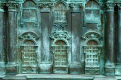 Bronzepalast Lizenzfreie Stockbilder
