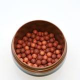 Bronzer balls Royalty Free Stock Image