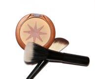 Bronzer de maquillage images libres de droits