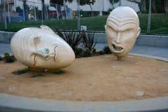 Bronzeskulptur Yin und Yangs Lizenzfreie Stockfotografie