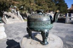 Bronzestativ (Klingeln) Lizenzfreie Stockfotografie
