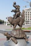 Bronzestatue Stockfotografie