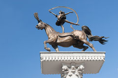 Bronzestatue Stockfotos