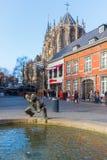 Bronzestatue in Aachen, Deutschland Stockfoto