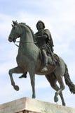 Bronzestatue von Louis XIV Stockbild