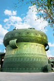 Bronzetrommelgebäude lizenzfreies stockfoto
