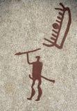 Bronzezeitalter Schiffsschnitzen Stockfotografie