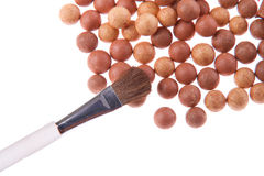 Bronzing pearls Stock Photography