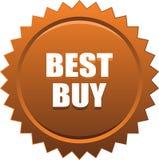 Bronzo del bollo della guarnizione di Best Buy Fotografia Stock